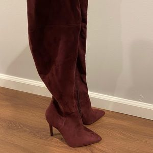 Never worn Kendall & Kylie over the knee boots
